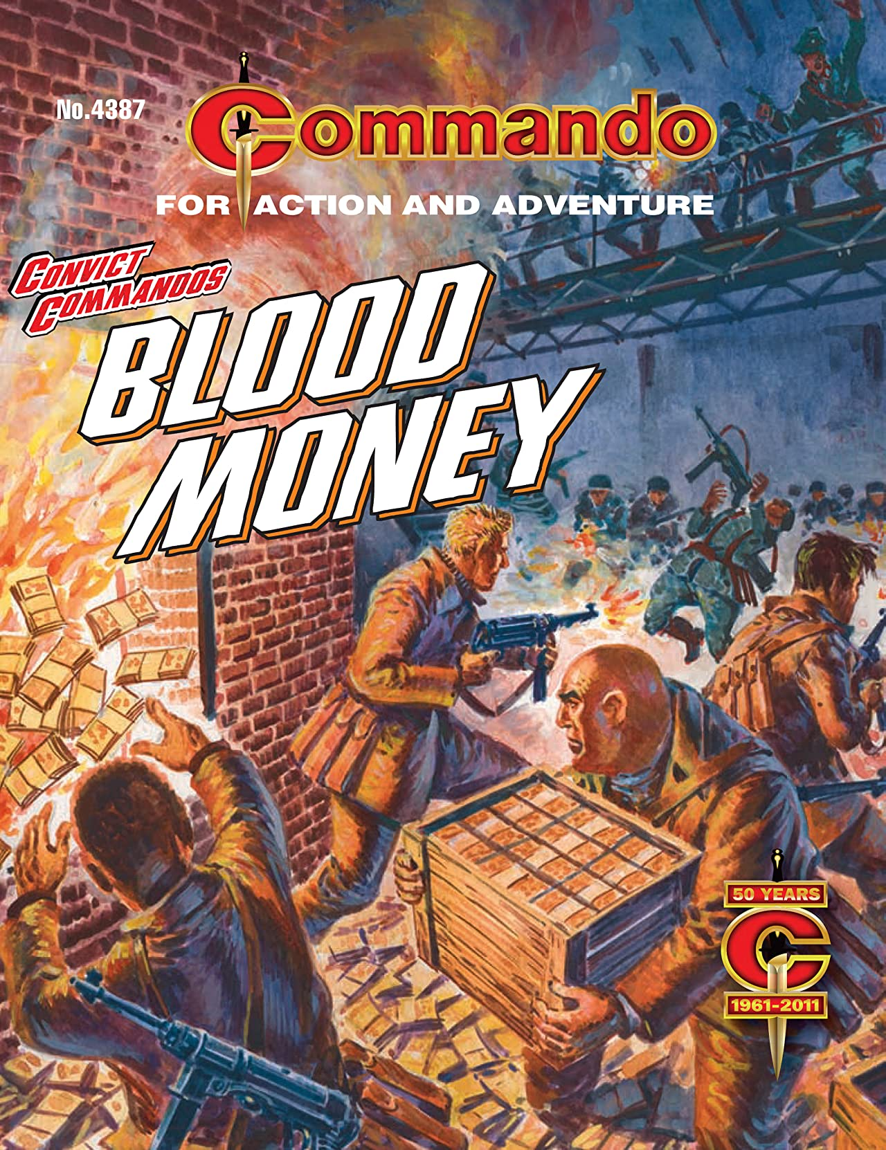 Commando #4387: Convict Commandos: Blood Money