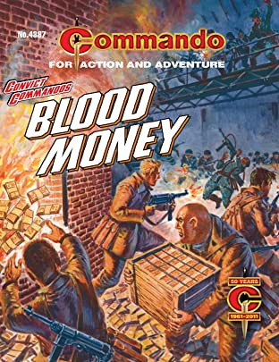 Commando #4387: Convict Commandos: Blood Money