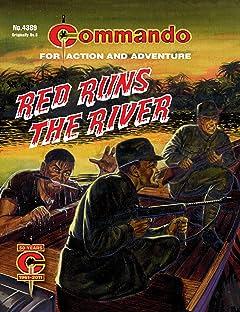 Commando #4389: Red Runs The River