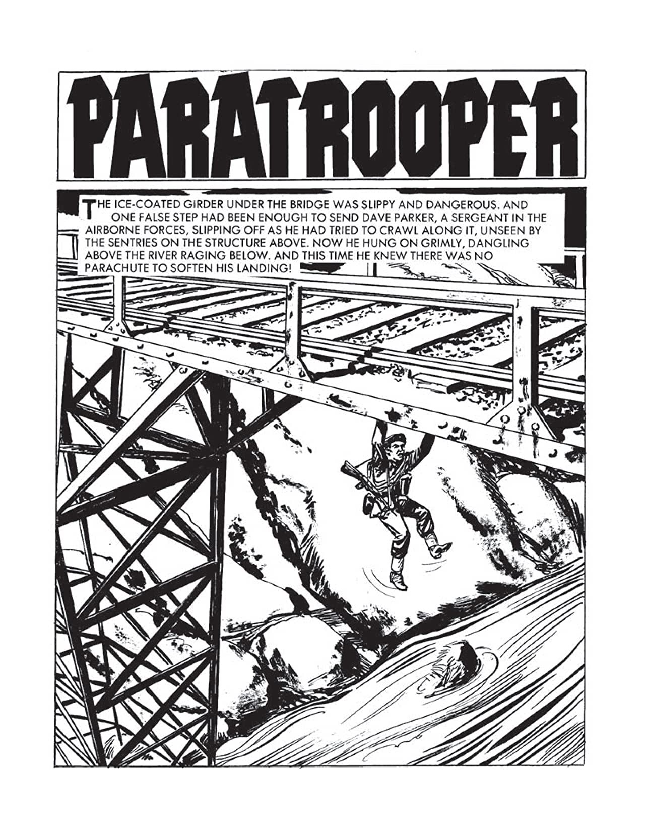 Commando #4390: Paratrooper