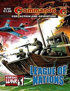 Commando #4401: League Of Nations