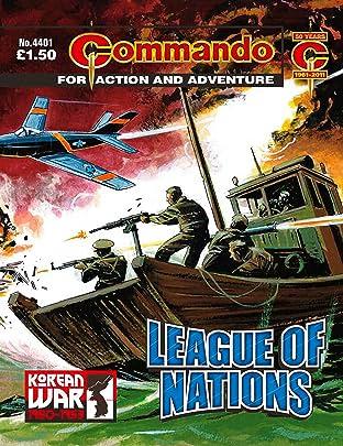 Commando No.4401: League Of Nations