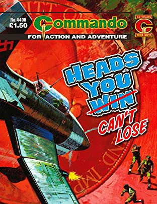 Commando #4405: Heads You Can't Lose