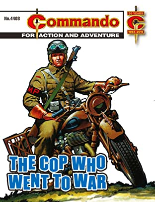 Commando #4408: The Cop Who Went To War