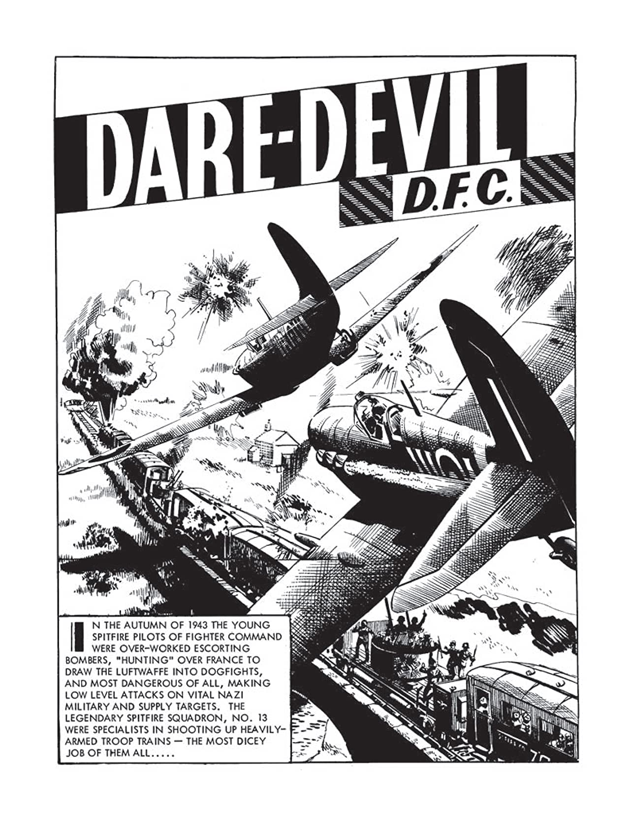 Commando #4416: Daredevil D.F.C.
