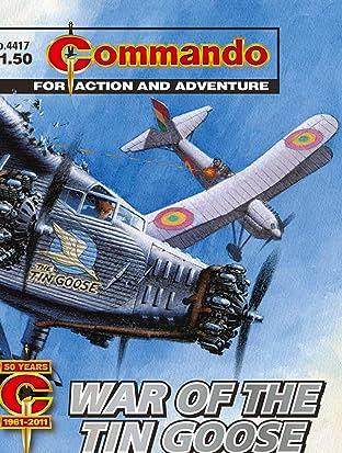 Commando No.4417: War Of The Tin Goose