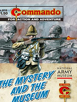 Commando #4419: The Mystery And The Museum