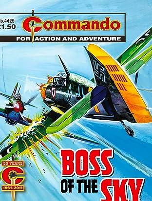 Commando #4429: Boss Of The Sky