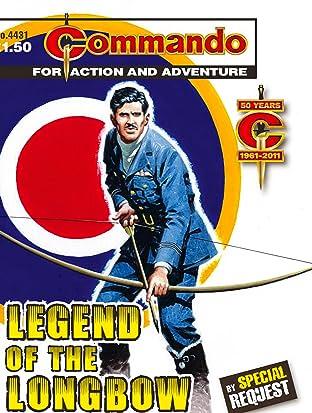 Commando #4431: Legend Of The Longbow