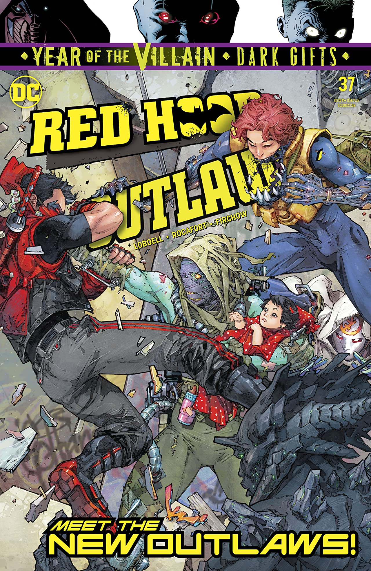 Red Hood and the Outlaws (2016-) No.37