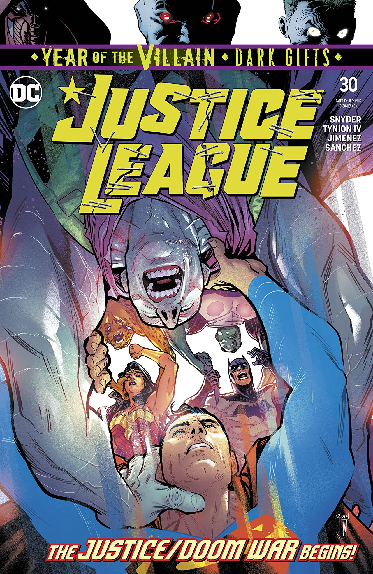 Justice League (2018-) No.30