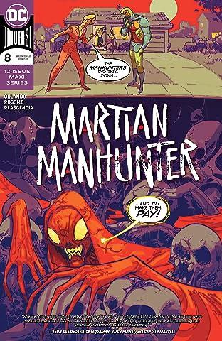 Martian Manhunter (2018-) No.8
