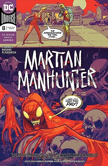 Martian Manhunter (2018-) #8