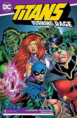 Titans: Burning Rage (2019-) #1