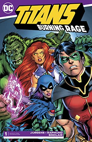 Titans: Burning Rage (2019-) #1