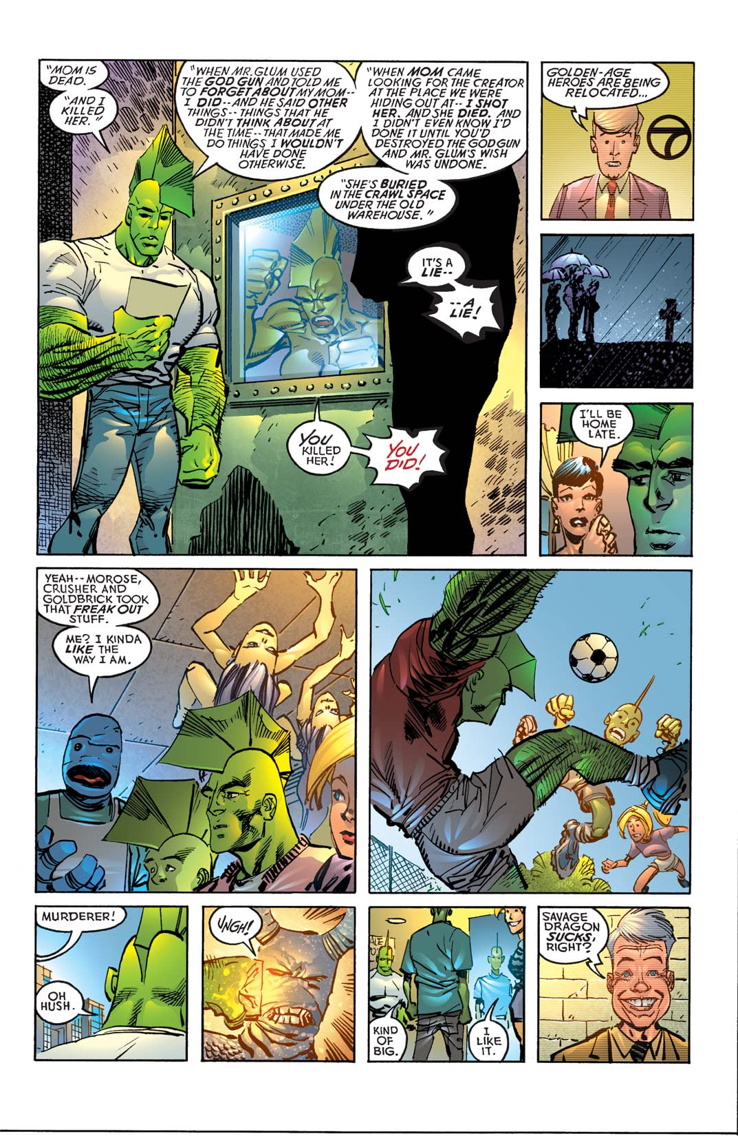 Savage Dragon #144