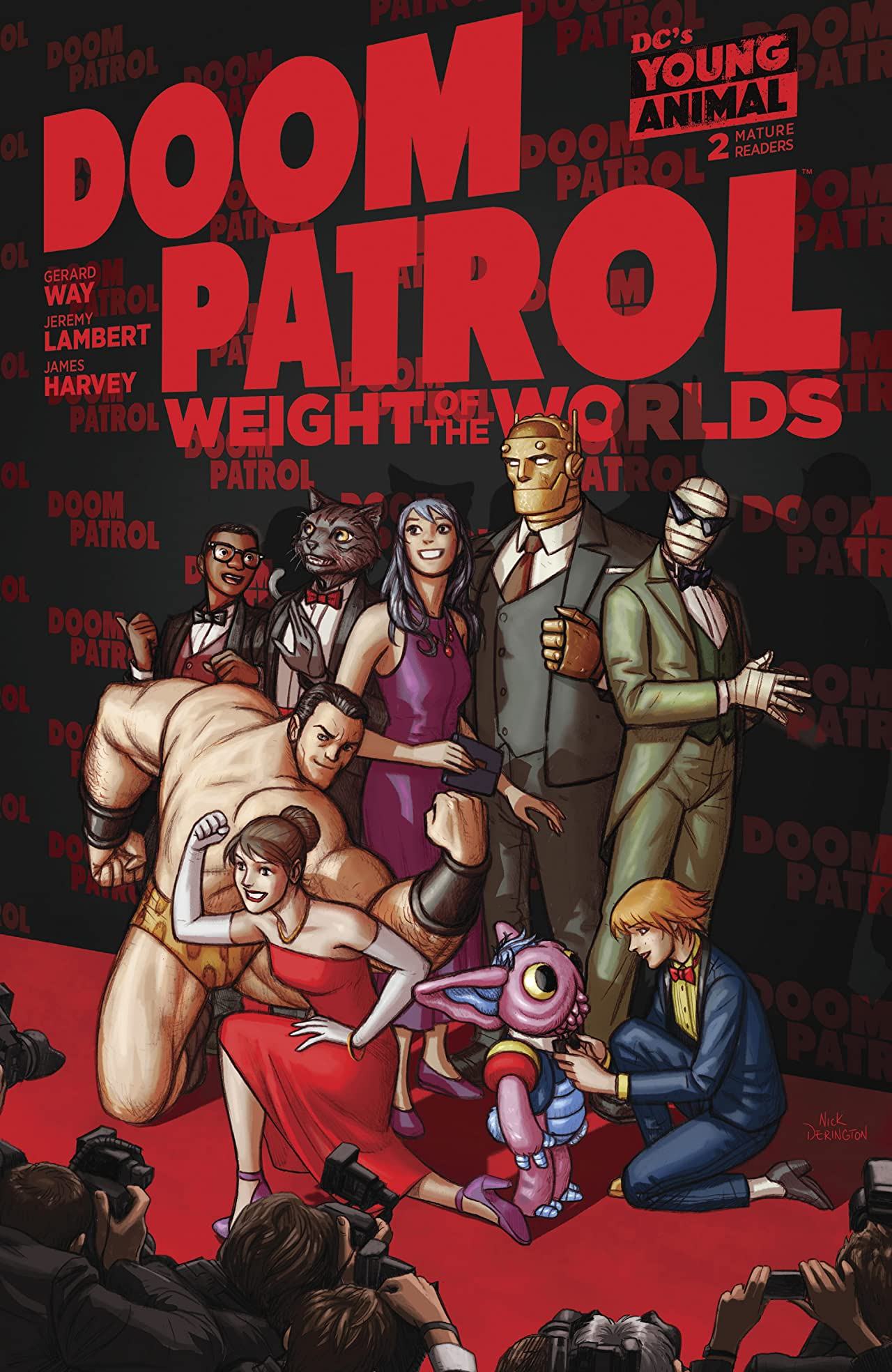 Doom Patrol: Weight of the Worlds (2019-) #2