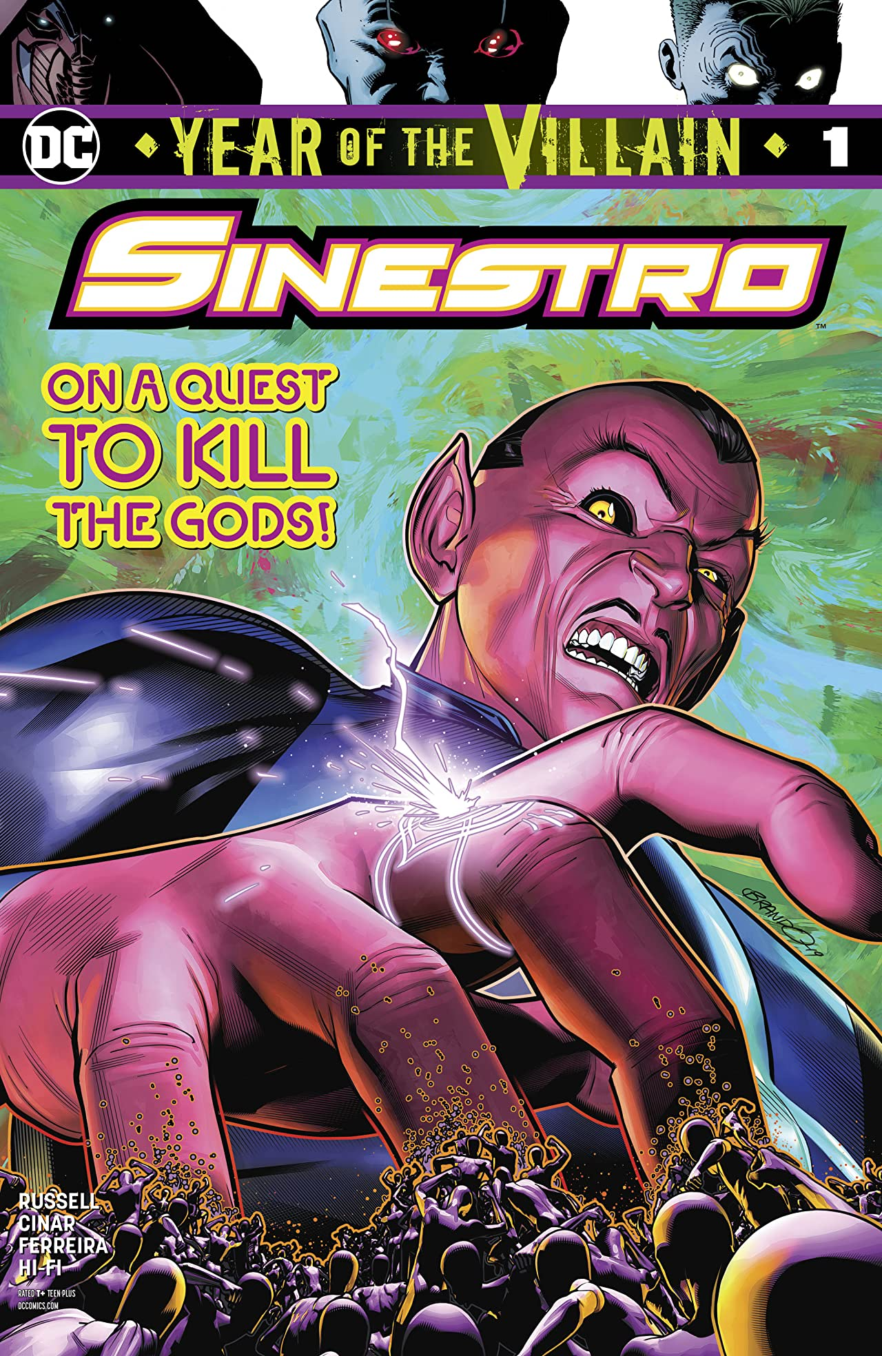 Sinestro: Year of the Villain (2019-) No.1