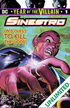 Sinestro: Year of the Villain (2019-) #1