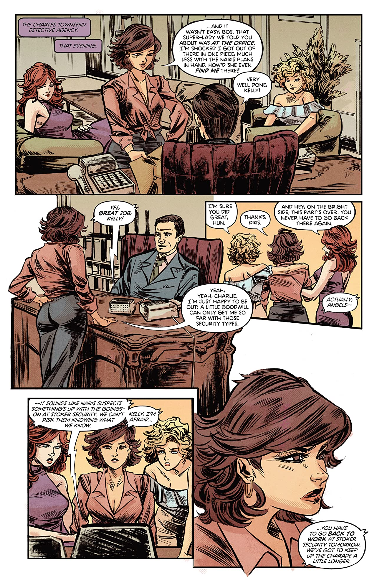 Charlie's Angels vs. The Bionic Woman No.3