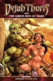 Dejah Thoris and the Green Men of Mars Omnibus