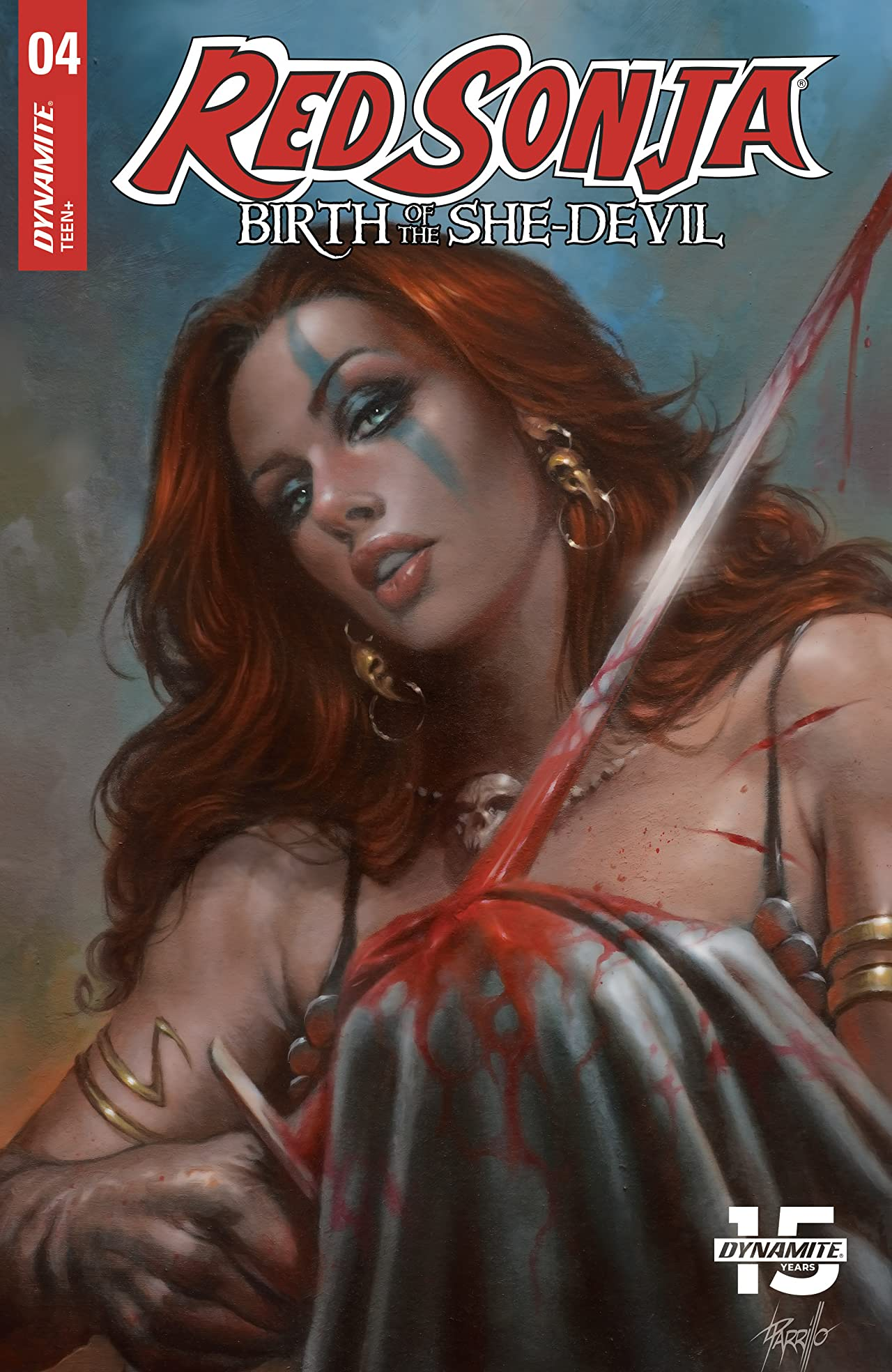 Red Sonja: Birth of the She-Devil No.4