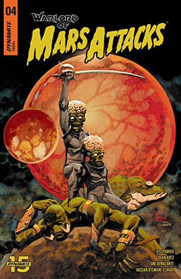 Warlord of Mars Attacks #4