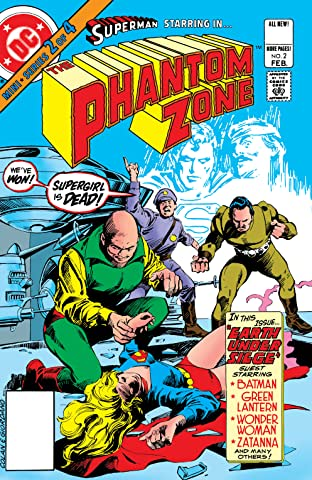 Superman Presents The Phantom Zone (1982) #2