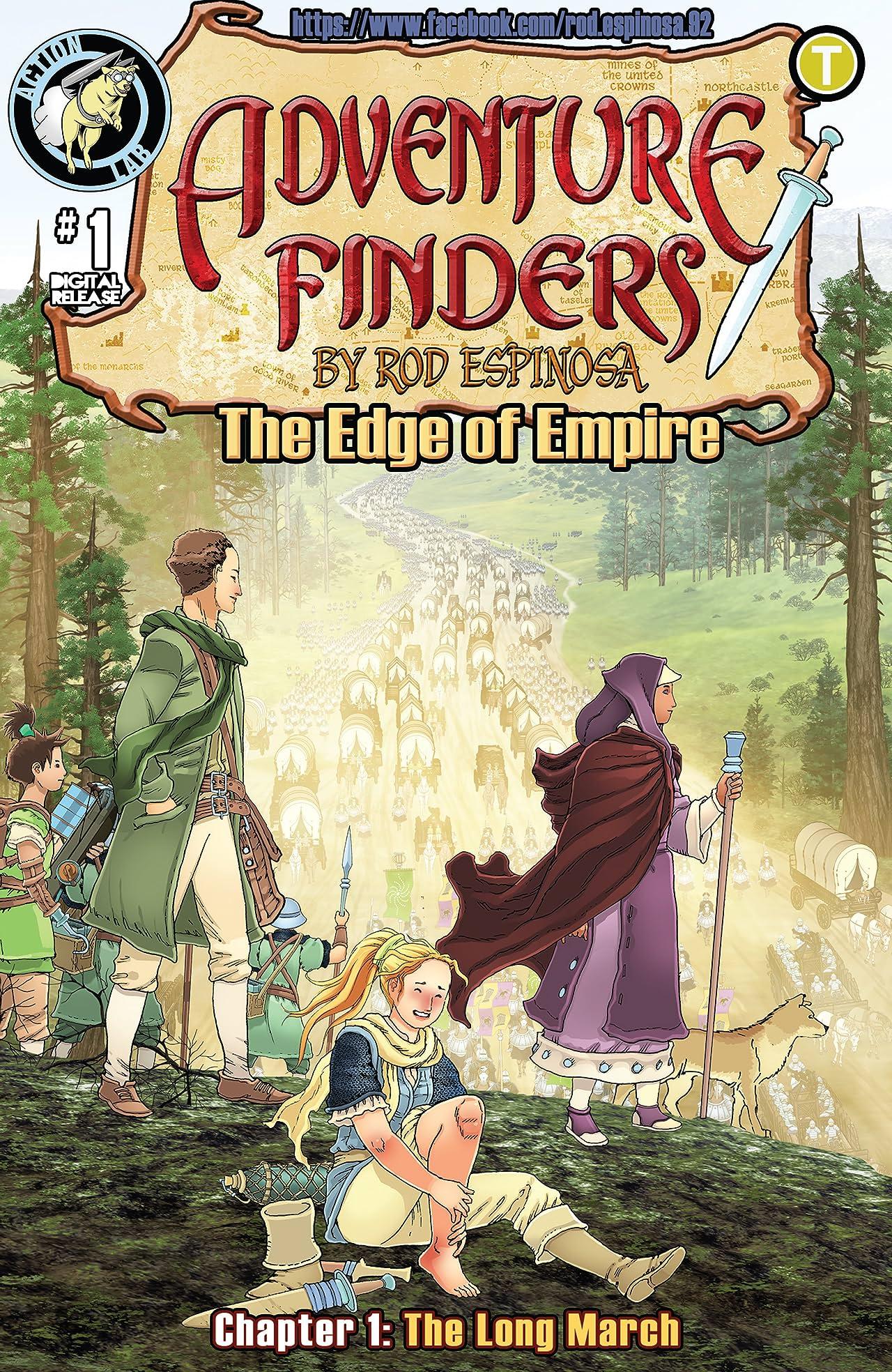 Adventure Finders: The Edge of Empire No.1