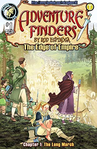 Adventure Finders: The Edge of Empire No.1