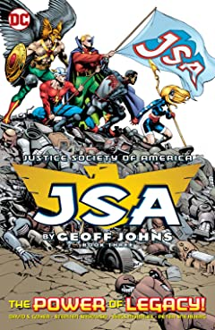 JSA by Geoff Johns Book Three