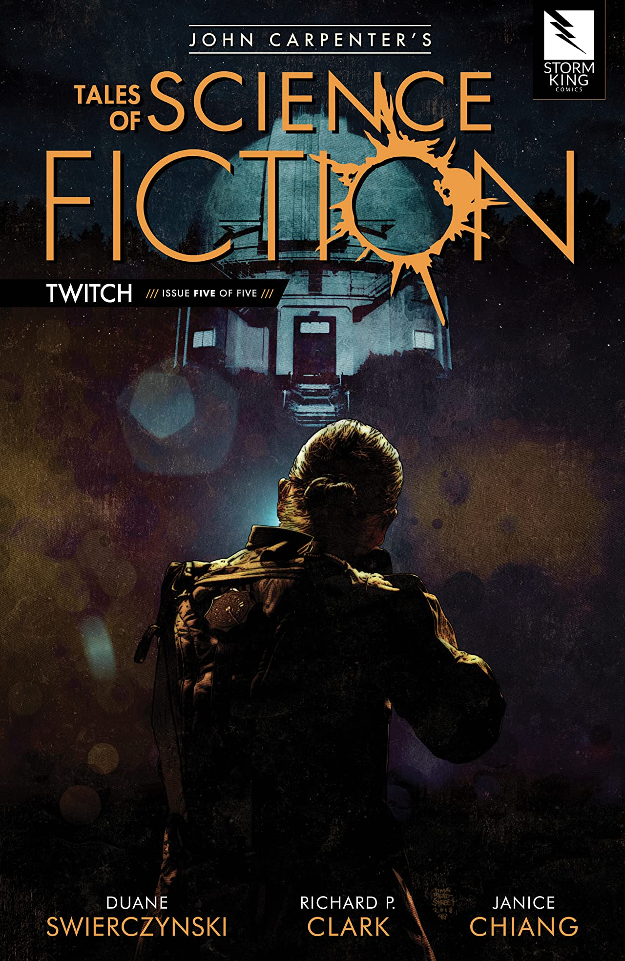 John Carpenter's Tales of Science Fiction: TWITCH #5