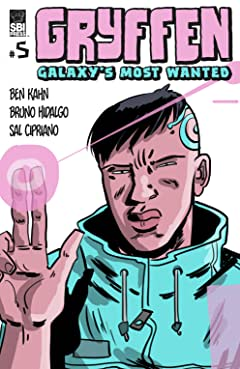 Gryffen: Galaxy's Most Wanted No.5