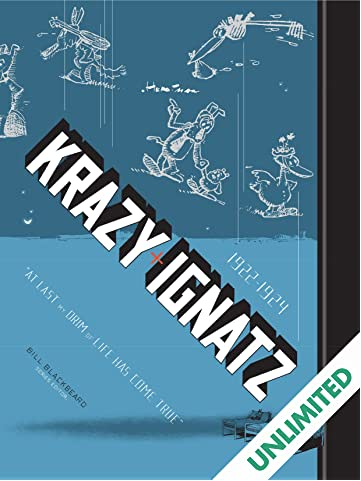 Krazy & Ignatz: 1922-1924 - Drim of Love