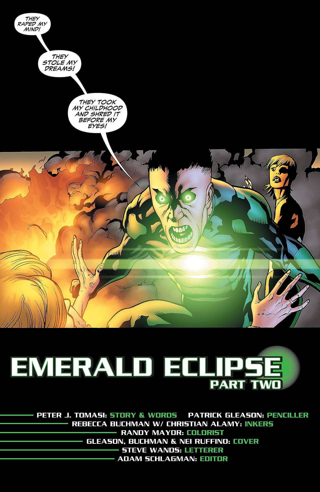 Green Lantern Corps (2006-2011) #34
