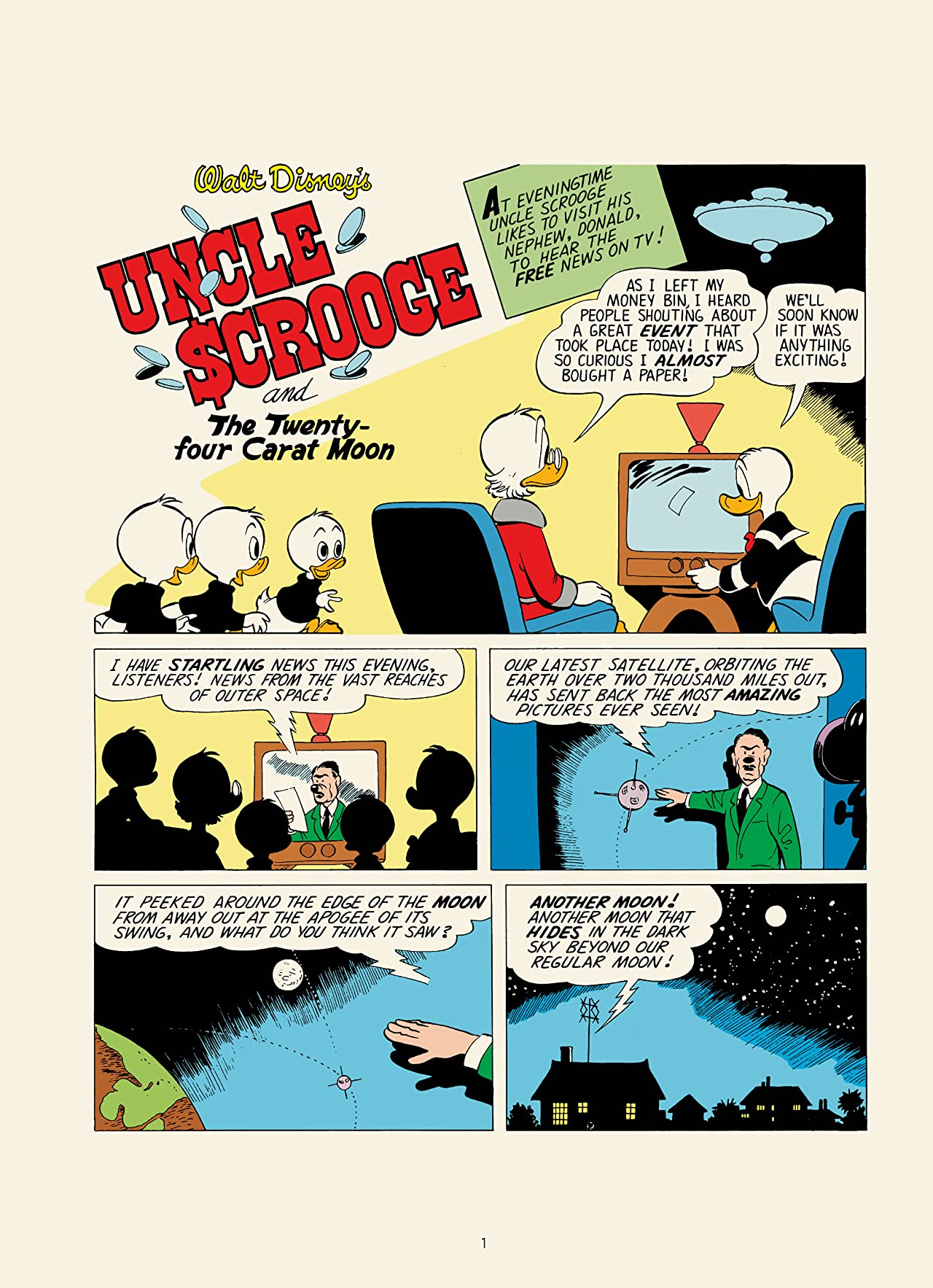 Walt Disney's Uncle Scrooge Vol. 22: The Twenty-Four Carat Moon