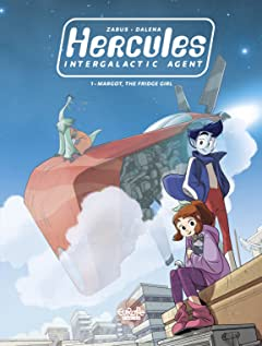 Hercules, Intergalactic Agent Vol. 1: Margot, the Fridge Girl