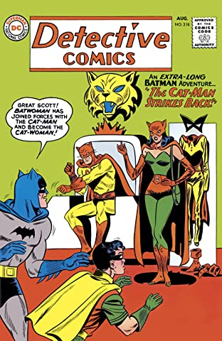 Detective Comics (1937-2011) #318