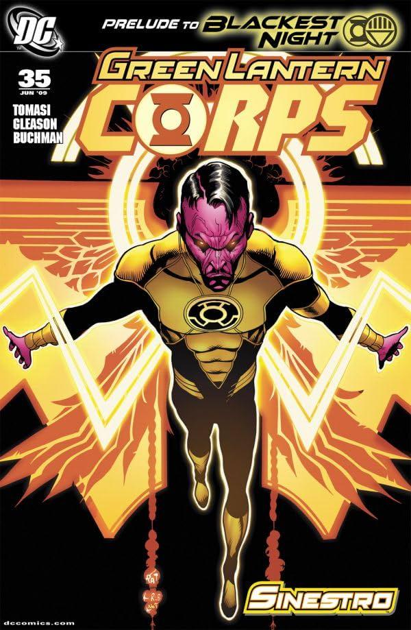 Green Lantern Corps (2006-2011) #35