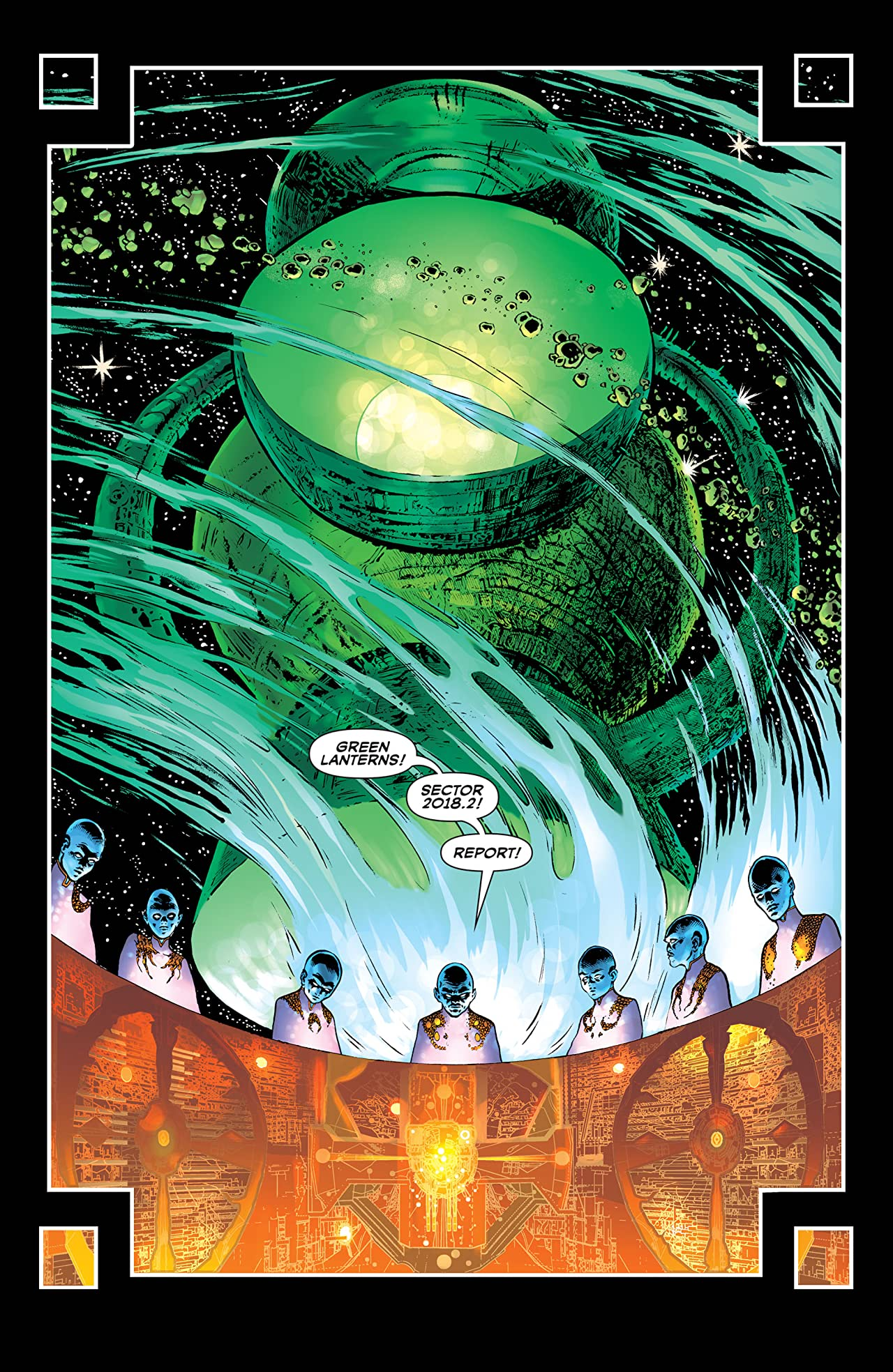 The Green Lantern (2018-) Vol. 1: Intergalactic Lawman