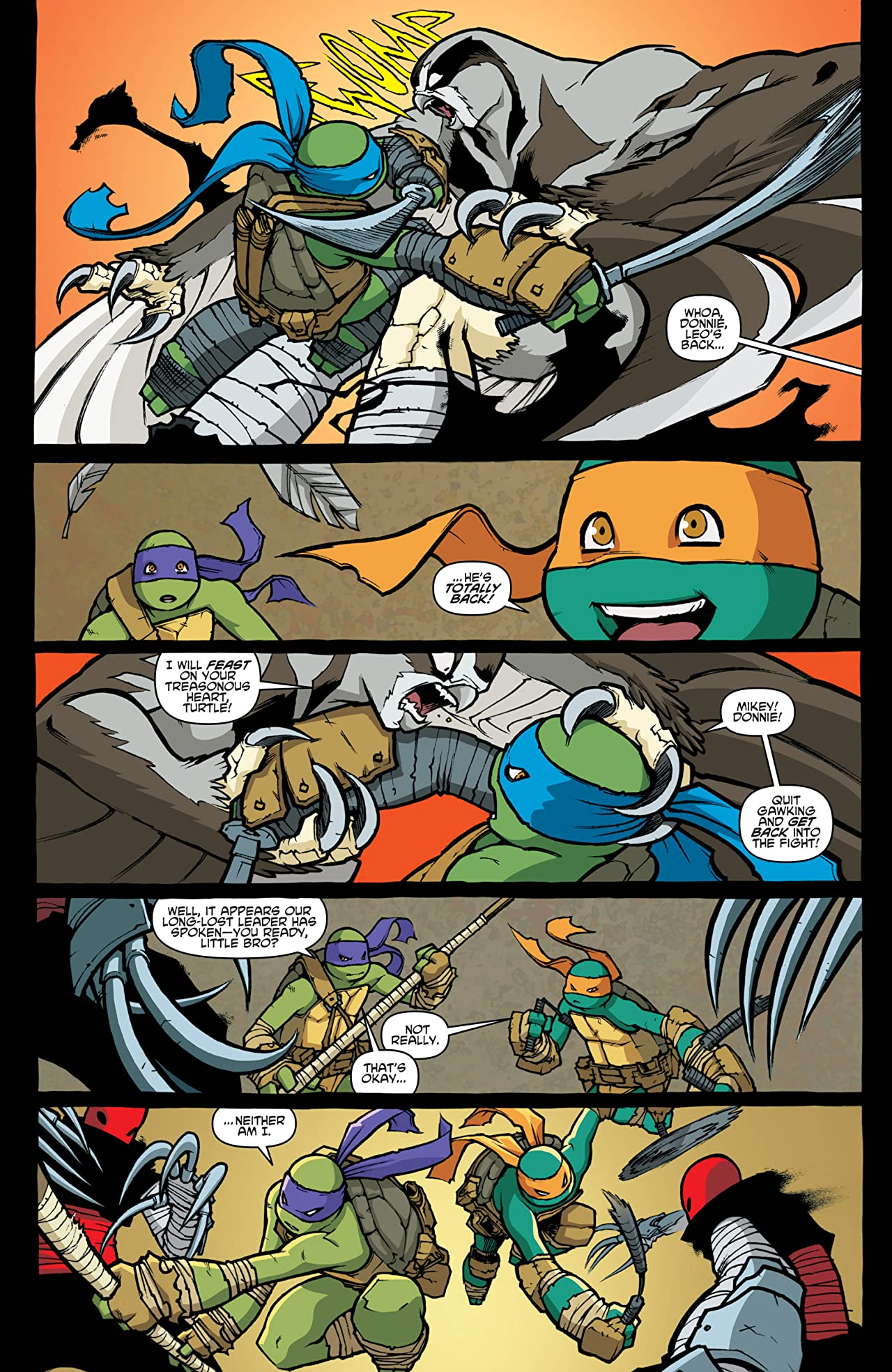 Teenage Mutant Ninja Turtles #32
