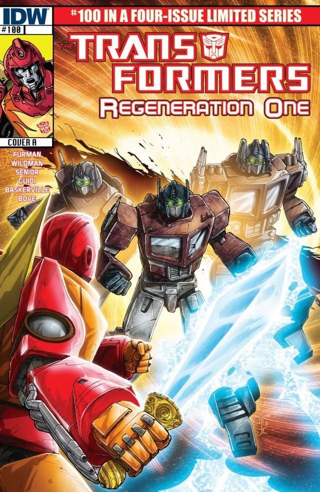Transformers: Regeneration One #100