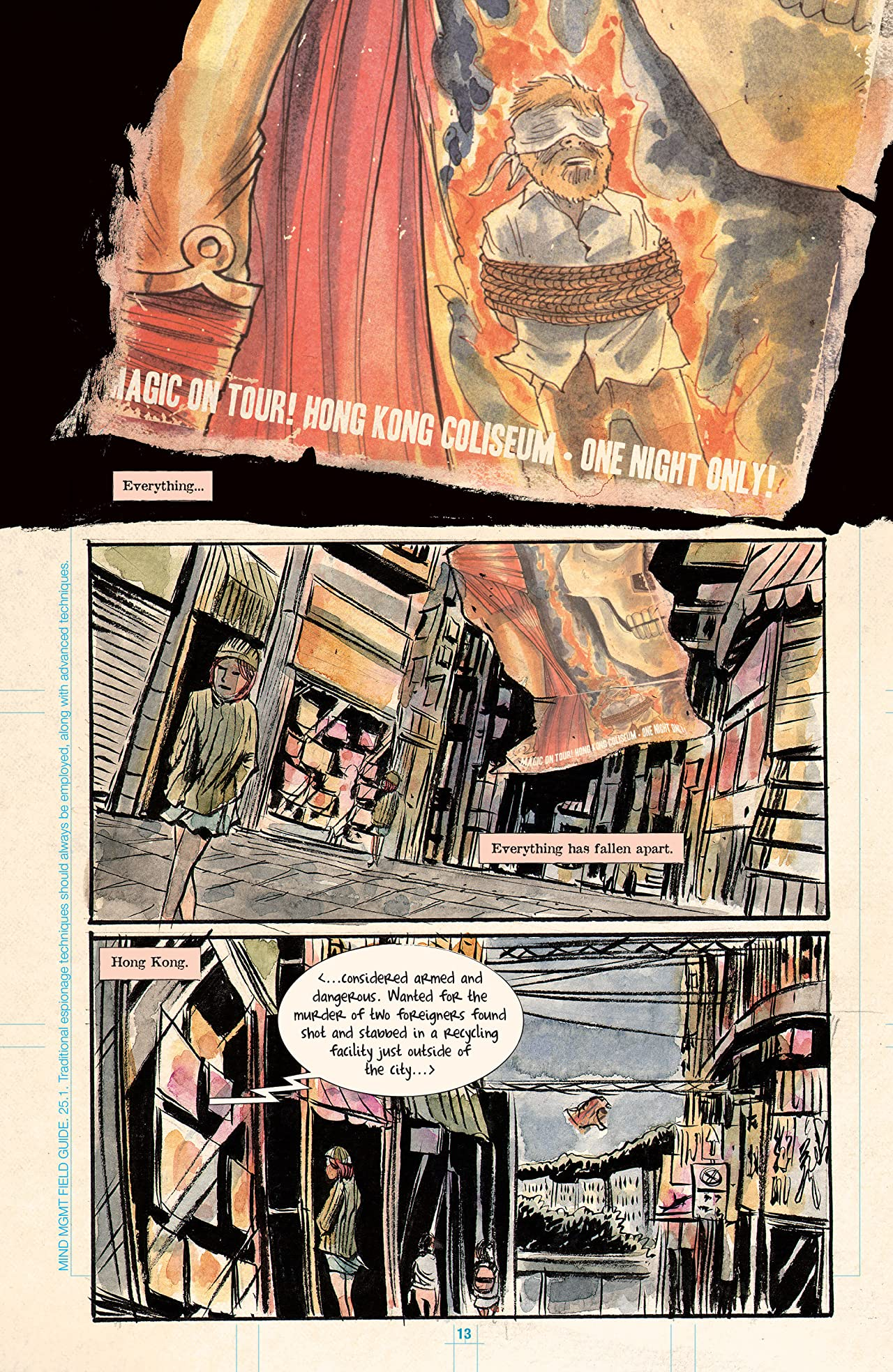 Mind MGMT Omnibus Part 3: The Eraser and The Immortals