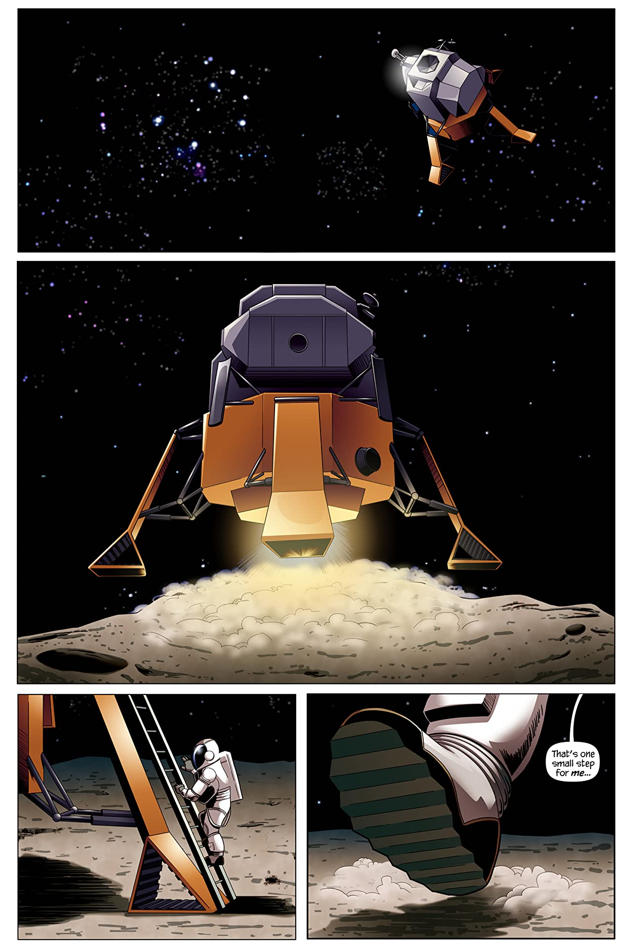 Martian Comics Vol. 1: Moon to Moon