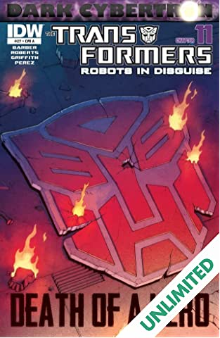 Transformers: Robots In Disguise (2011-) #27: Dark Cybertron Part 11