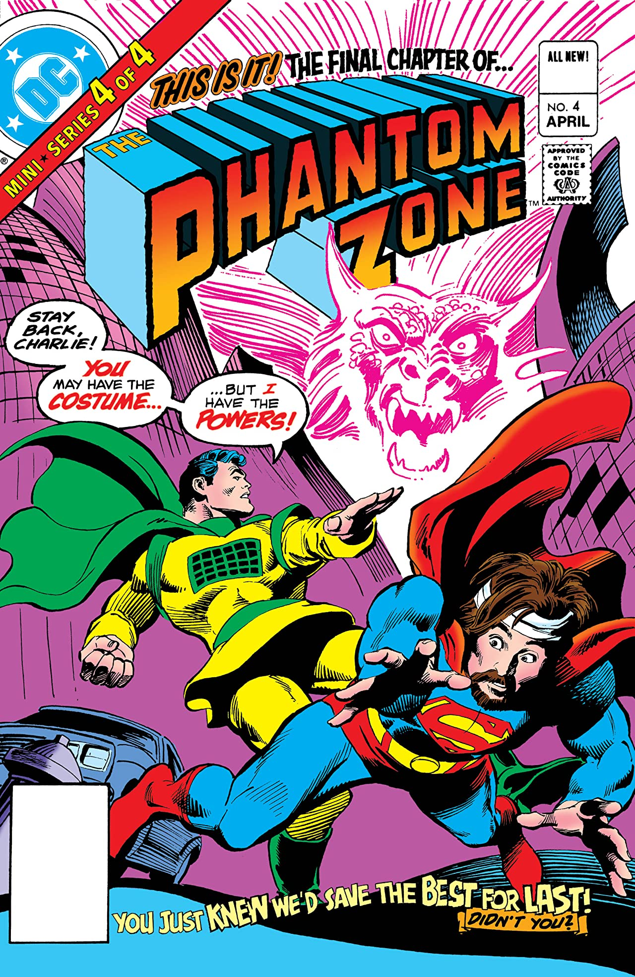 Superman Presents The Phantom Zone (1982) #4
