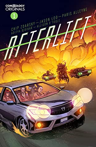 AFTERLIFT (comiXology Originals) #1 (of 5)
