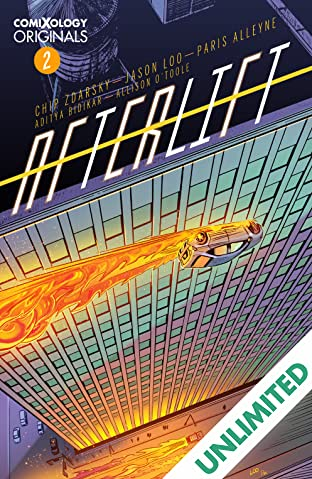 AFTERLIFT (comiXology Originals) #2 (of 5)