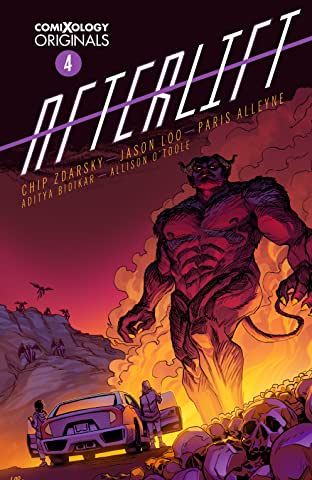 AFTERLIFT (comiXology Originals) No.4 (sur 5)