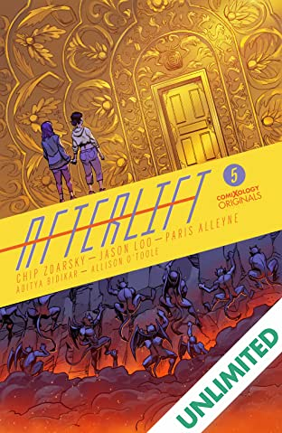 AFTERLIFT (comiXology Originals) #5 (of 5)